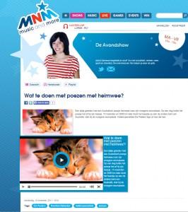 Radiointerview MNM 10-11-11